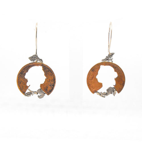 Victoria & Oak Leaves Earrings