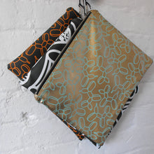 Load image into Gallery viewer, Macaroni Print Clutch Bag in Vegan Leather