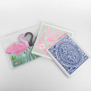 Swan pop up card