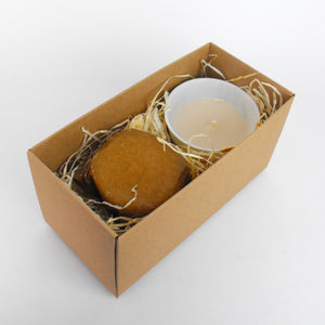 Gold Spot 'Sevilla' Porcelain Candle Set