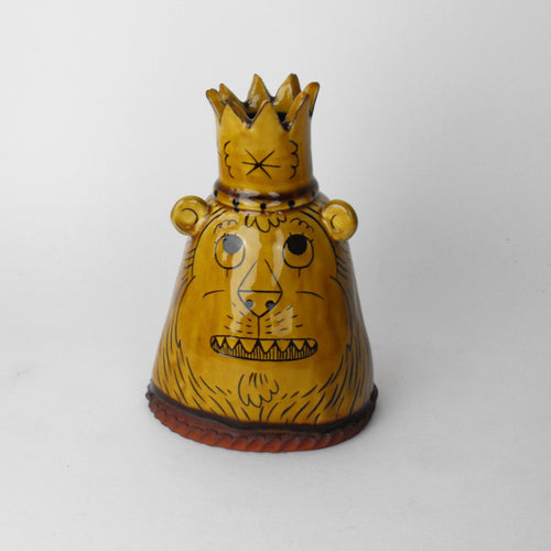 Lion King Candle Holder / Money Box