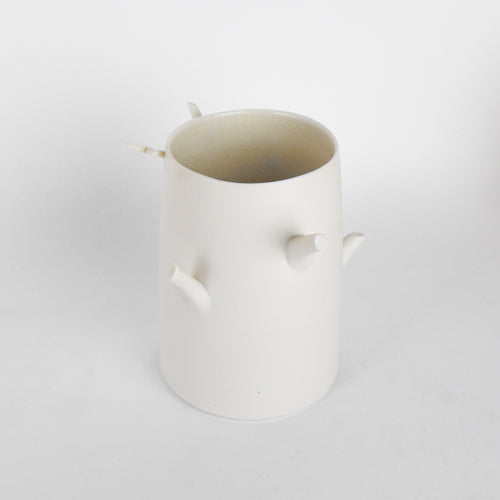 Porcelain Twig Vessel 4