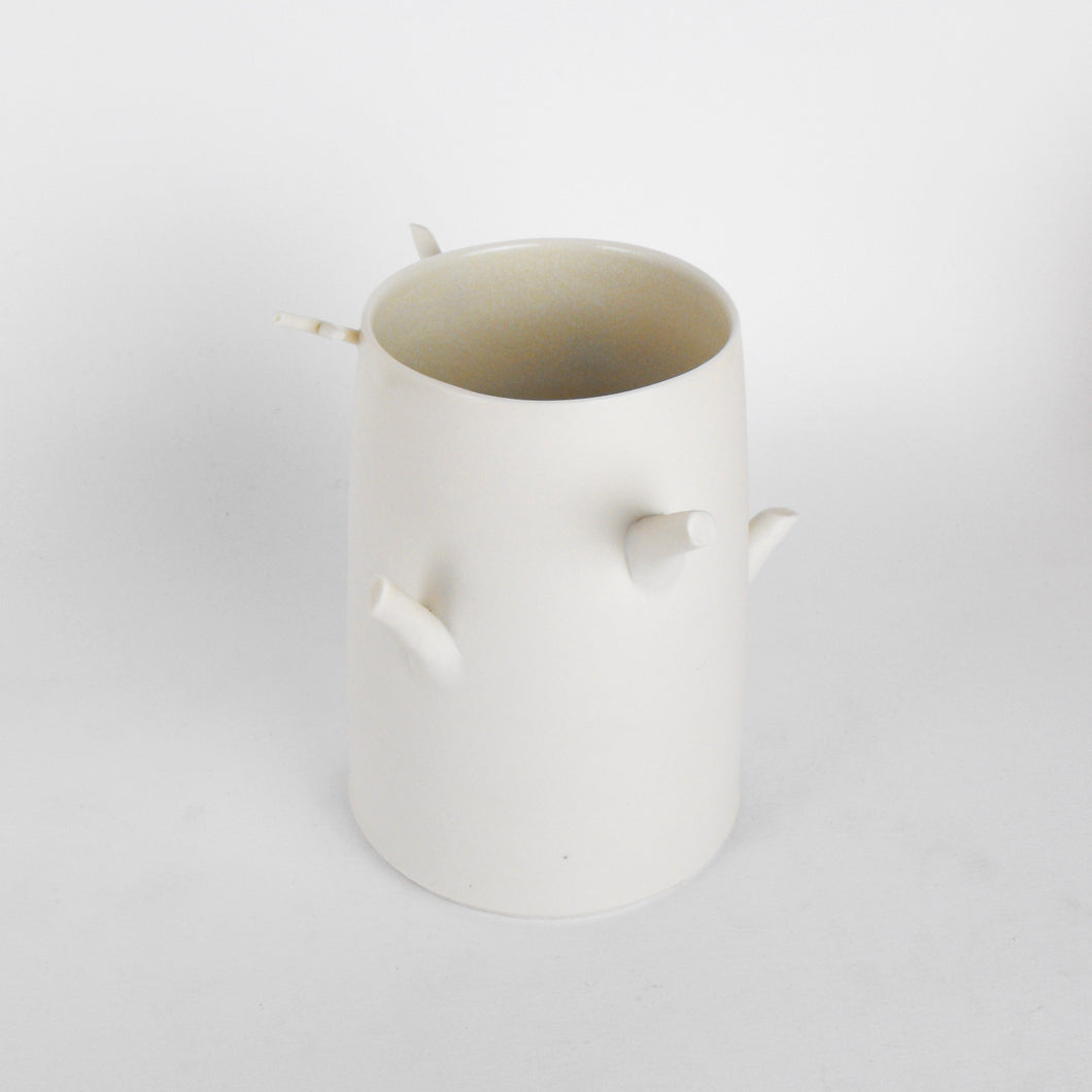 Porcelain Twig Vessel #4