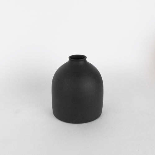 Charcoal Porcelain Bottle #1