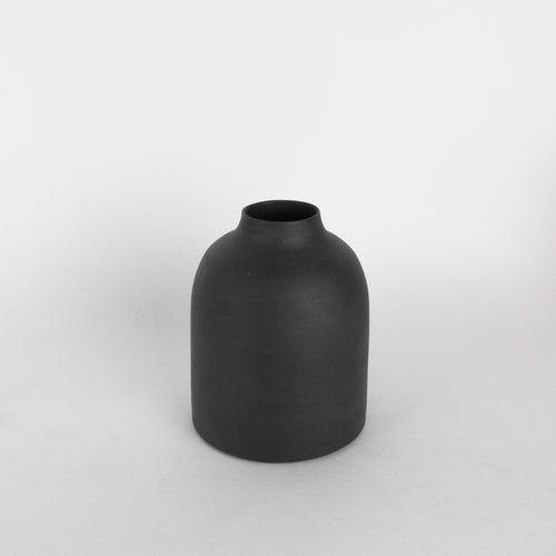 Charcoal Porcelain Bottle #2
