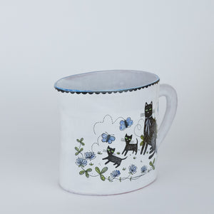 'Wondrous Day' Illustrated Jug