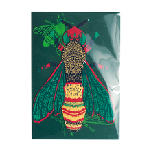 Load image into Gallery viewer, Wasp greetings card