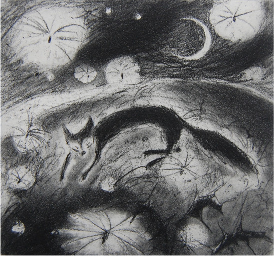 Flying dreams - etching