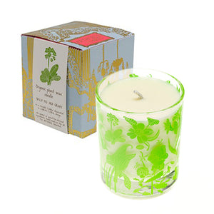 Laura's Floral Organic Candle (Wild Fig and Grape scent)