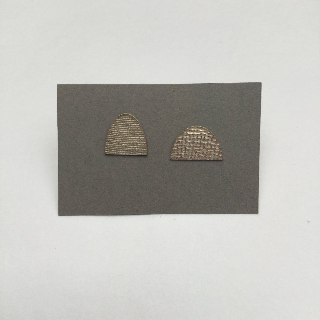 Asymmetrical Stud Earrings