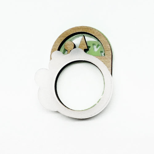 Journey 1 Shape Rings - set of three