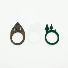 Journey 2 Shape Rings - set of three