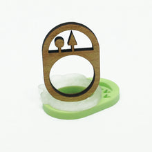 Load image into Gallery viewer, Journey 1 Shape Rings - set of three
