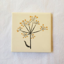 Load image into Gallery viewer, Cow Parsley Seeds Tile