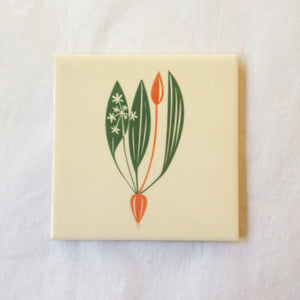 Wild Garlic Tile