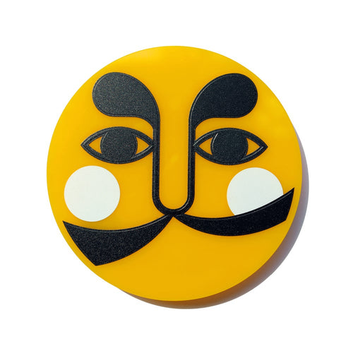 Antonio el Sol Amarillo (Antonio the Yellow Sun) brooch