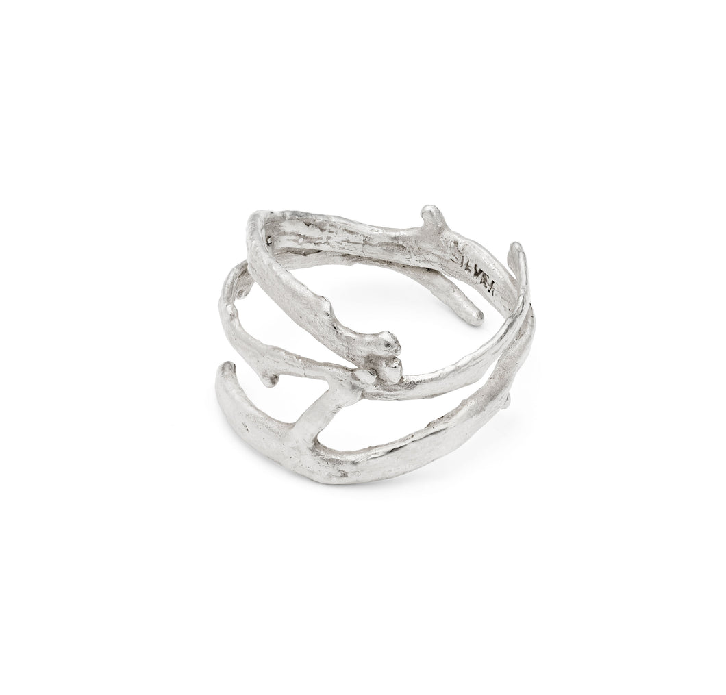 Three Twist Seaweed Ring