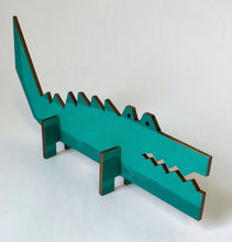 Load image into Gallery viewer, Wooden Crocodile