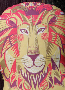 Clarence the Lion Tea Towel  / Cloth Kit - A silkscreen design