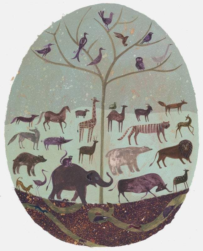 Creation - Print of an illustration by Sarah Young