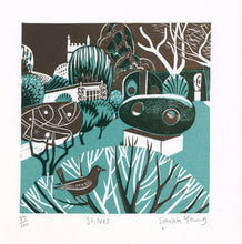 Load image into Gallery viewer, St Ives - Relief / Letterpress Print