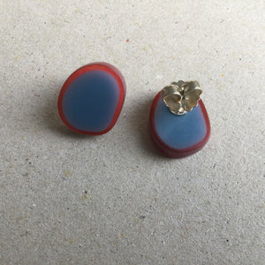 Resin Stud Earrings 2