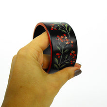 Load image into Gallery viewer, Black Berry Bangle