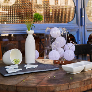 MaTableBOX | Art de la Table | Collection BUBBLE | Vase en verre transparent