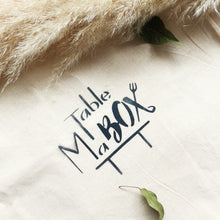 MaTableBOX | Art de la Table | SHOP | Tote Bag MaTableBOX