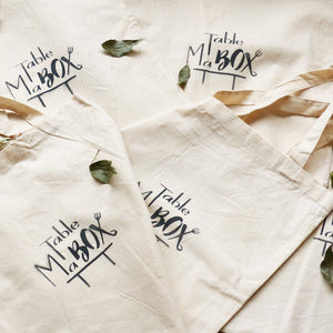 MaTableBOX | Art de la Table | SHOP | Tote Bag en coton