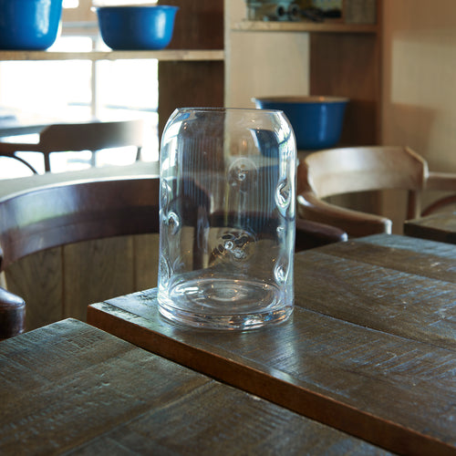 MaTableBOX | Collection BUBBLE | Vase en verre transparent