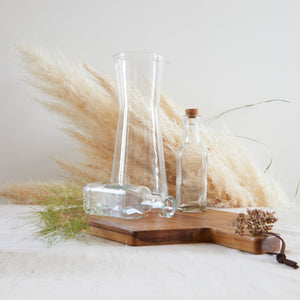 MaTableBOX | Collection GLASSY | Carafe, Huilier & Vinaigrier