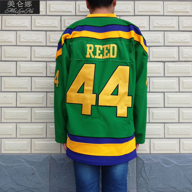 Fulton Reed  44 D1 Original Green Ducks Jersey – Mighty Jerseys 9c19b39910f