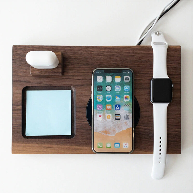 ワイヤレス充電 スマートフォン Iphone Apple Watch wireless charging dock