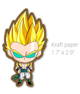 STICKER - DB - GOTENKS SS