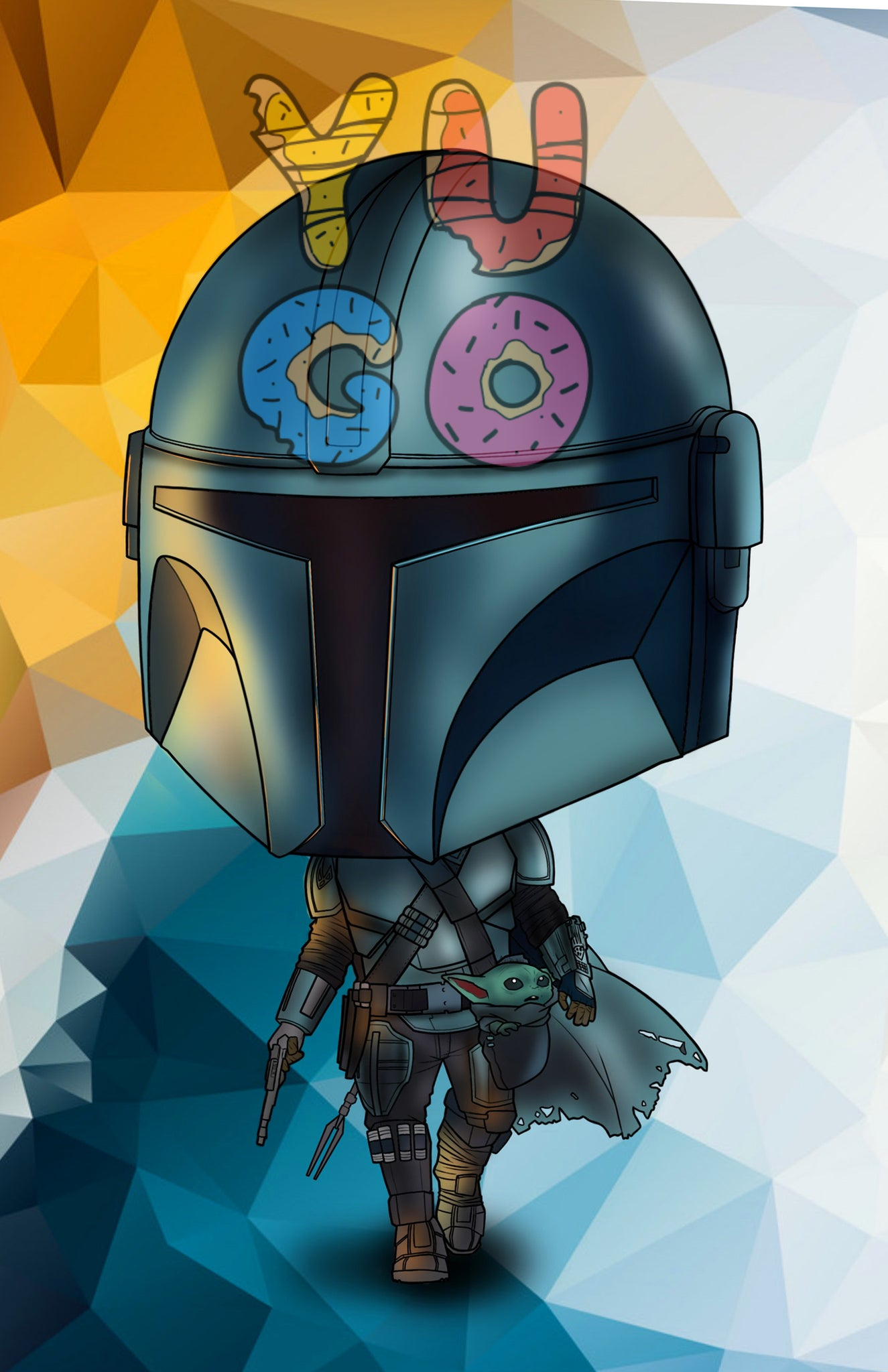 THE MANDALORIAN - EXCLUSIVE PRINT