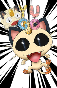 POKEMON - MEOWTH - SPECIAL PRINT