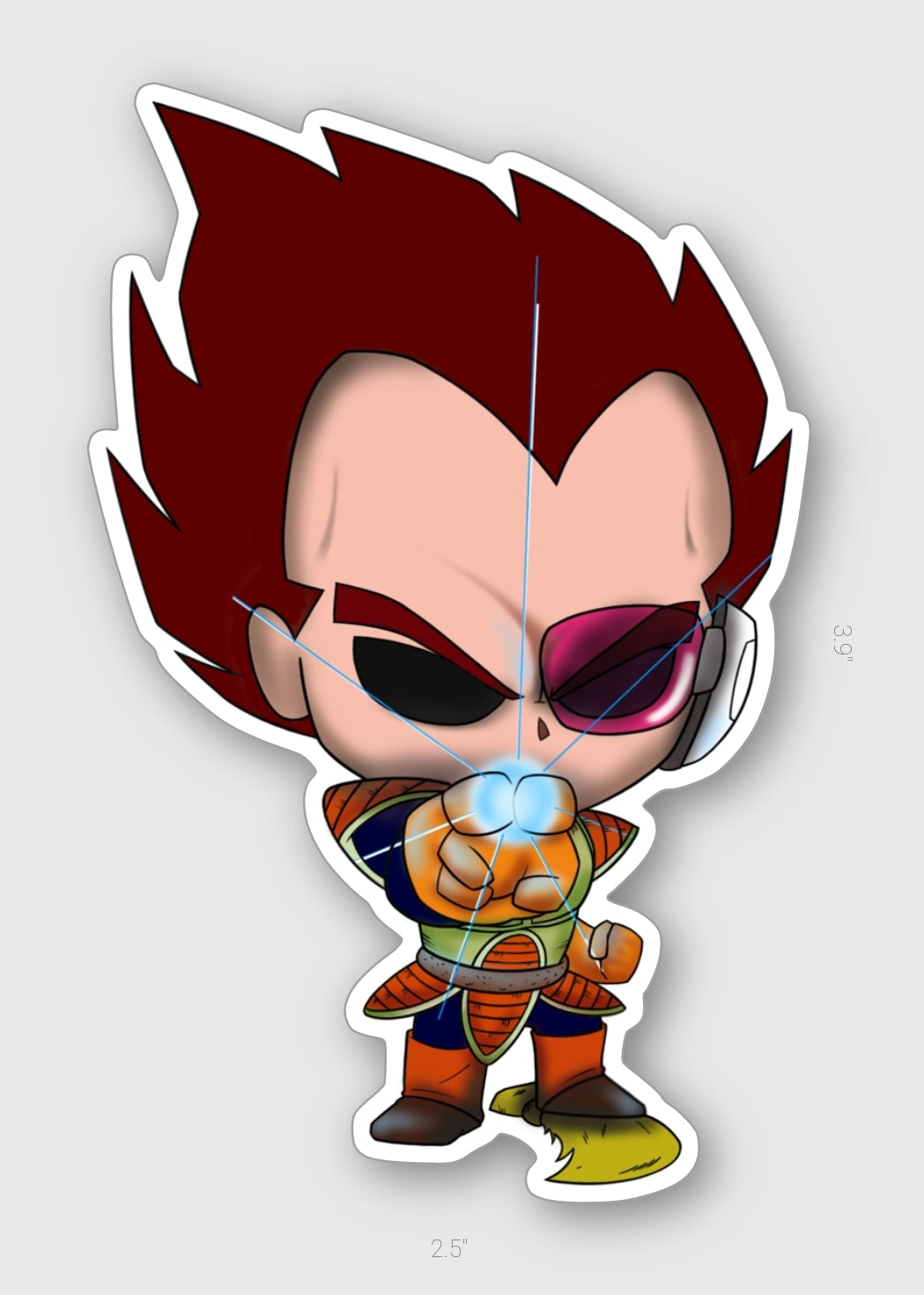 PA VEGETA - VINYL STICKER