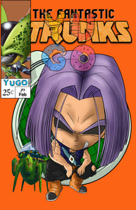 DB - COMIC BOOK COVER - TRUNKS