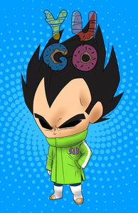 DB - VEGETA WITH JACKET