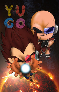 DB - VEGETA & NAPPA - PLANET ARLIA - EXCLUSIVE PRINT