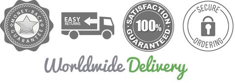 worldwide delivery - guarantee satisfaction