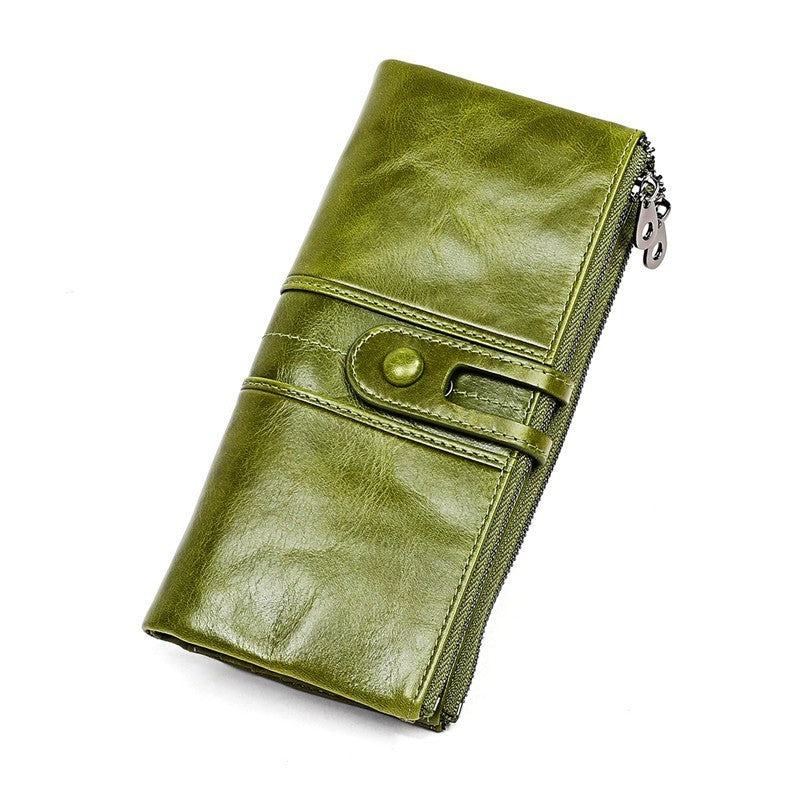 PREMIUM Leather RFID Anti-theft Long Wallet with Phone Holder [Flash SALE: Pay 2 Get 3]