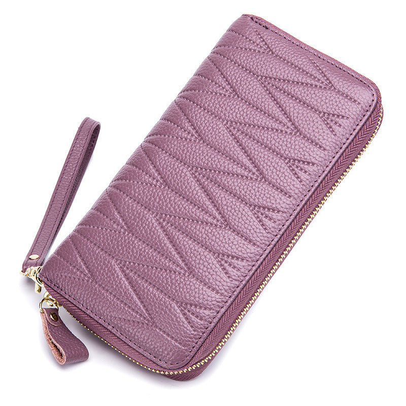RFID Luxury Women Genuine Leather Wallet [Premium]