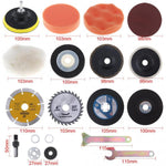 21-pc. Ultimate Grinder Accessory Kit