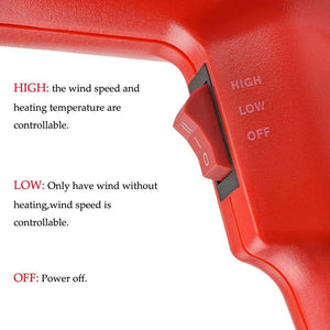 Thermo-regulator Hot Air Gun with LCD