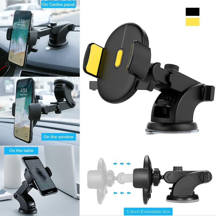 ONETOUCH™ Auto-Locking Phone Holder (Universal Fit)