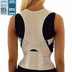 LifeGuard™ Magnetic Posture Corrective Therapy Back Brace For Men & Women (FF)
