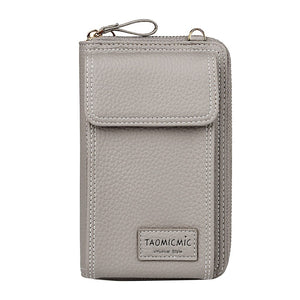 (Limited SALE 50%) Essential Mobile Phone Leather Clutch Bag