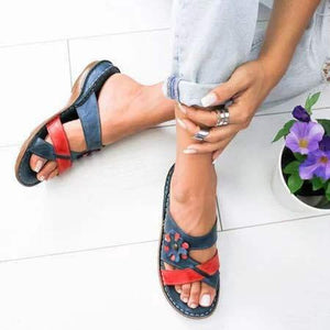 Women's Summer Floral Comfortable Sandals [Premium]